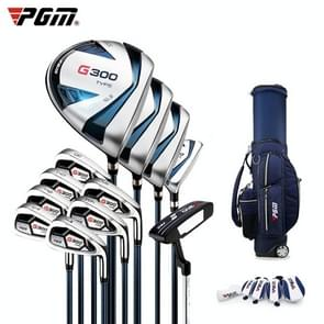 PGM Golf Beginner Full Set Clubs for Men, 12pcs, Steel Rod with Retractable Ball Bag