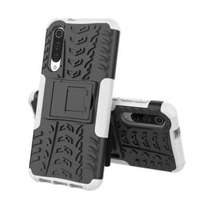 Tire Texture TPU+PC Shockproof Phone Case for Xiaomi Mi 9 SE, with Holder
