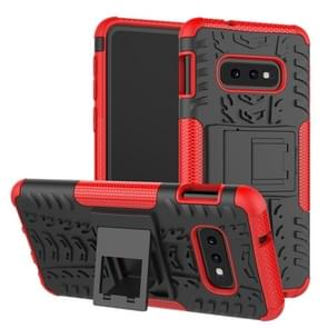 Tire Texture TPU+PC Shockproof Case for Galaxy S10e, with Holder