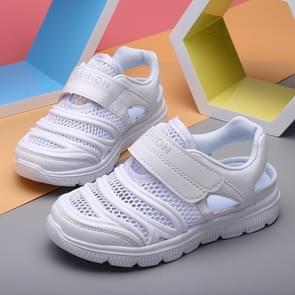 Fashion Soft and Comfortable Breathable Sandals Beach Shoes for Children (Color:White Size:32)