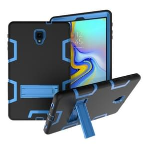 Contrast Color Silicone + PC Shockproof Case for Galaxy Tab A 10.5 T590, with Holder