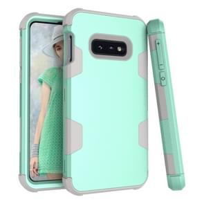 Contrast Color Silicone + PC Shockproof Case for Galaxy S10e (Mint)