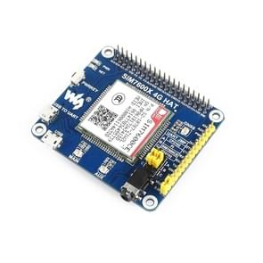 Waveshare 4G / 3G / 2G / GSM / GPRS / GNSS HAT for Raspberry Pi, LTE CAT4, for China