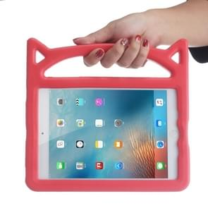 Cat Ear Shape Shockproof EVA Bumper Case for iPad mini 5 (2019) / mini 4, with Handle & Holder