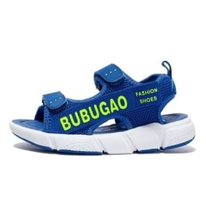 Fashion Soft and Comfortable Breathable Sandals Shoes for Children (Color:Blue Size:37)