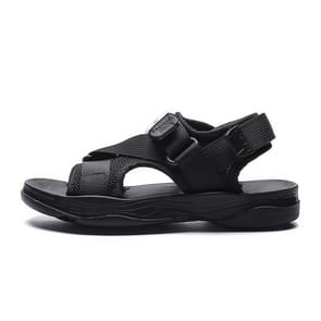 Breathable and Lightweight Soft Wear Resistant Sandals for Children (Color:Black Size:30)