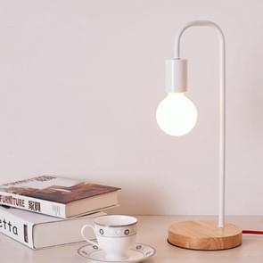 YWXLight Simple Dimmable LED Eye-protection Table Lamp Bedside Bedroom Desk Light (White)