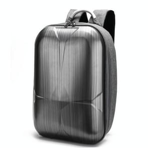 Multi-Functional Portable Travel Hard Shell Waterproof Anti-Shock Dual Shoulders Backpack Storage Case Bag for Xiaomi Fimi X8 SE Drone (Grey)