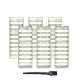 XI267 6 stuks I259 filter + G101 kleine zwarte borstel voor ILIFE A7 A9