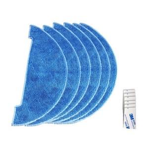 XI272 6 stuks I262 reiniging Rag + 6 stuks G604 magische zelfklevende sticker voor ILIFE V8/V8S/X750