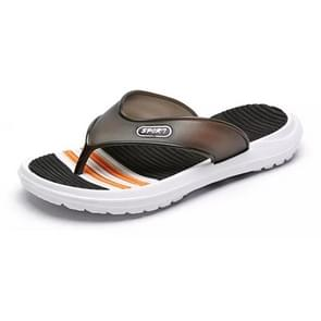 Eenvoudige casual non-slip draagbare flip-flops voor mannen (kleur: zwart maat: 40)
