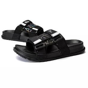 Mode trend zachte en comfortabele slijtvaste non-slip slippers voor mannen (kleur: camouflage zwarte grootte: 39)