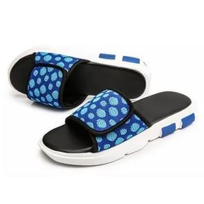 Ademend mesh mode trend afneembare slippers voor mannen (kleur: blauw maat: 44)