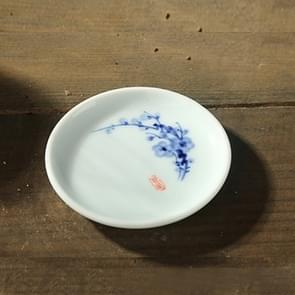 Kung Fu Teaware warmte-isolatie mat keramische Cup pad (Plum Blossom)