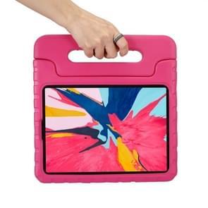 Draagbare schokbestendige EVA bumper geval voor iPad Air 10 5 inch (2019) & iPad Pro 10 5 inch (2017) (Rose rood)