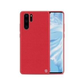 NILLKIN Nylon Fiber 3D Textured TPU Case for Huawei P30 Pro (Red)