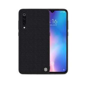 NILLKIN 3D Textured Nylon Fiber TPU Case for Xiaomi Mi 9 / Mi 9 Explore (Black)