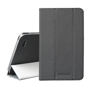 TECLAST Horizontal Flip PU Leather Protective Case for Teclast P80X, with Three-folding Holder (Black)