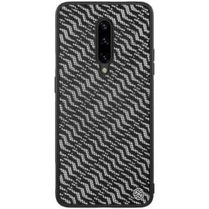 NILLKIN Brilliant Series Twinkle PC+TPU Case for OnePlus 7 Pro(Silver)