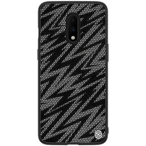 NILLKIN Brilliant Series Twinkle PC+TPU Case for OnePlus 7(Crepe)