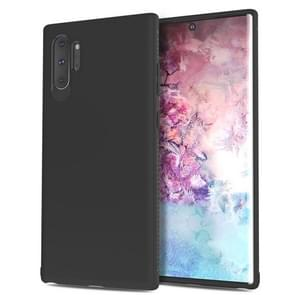 Lenuo Leshen Series Stripe Texture TPU Case for Galaxy Note 10+ / Note 10 Pro (Black)