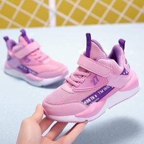 Stijlvolle en comfortabele ademende non-slip draagbare casual schoenen voor kinderen (kleur: roze formaat: 30)