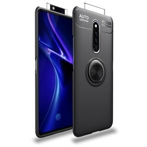 Shockproof TPU Case for Vivo X27 Pro, with Invisible Holder (Black)