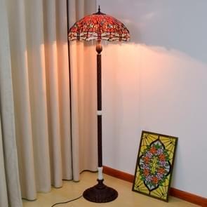 YWXLight Red Bottom Floor Lamp Living Room Restaurant Bar Decortation Light (EU Plug)
