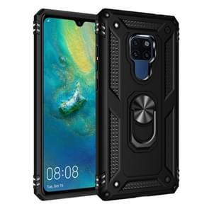 For Huawei Mate 20 Armor Shockproof TPU + PC Protective Case with 360 Degree Rotation Holder (Black)
