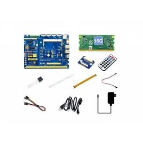 Waveshare Raspberry Pi Compute Module 3+/16GB Development Kit Type A, US Plug