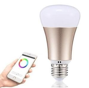 YWXLight E27 RGBW LED infrarood afstandsbediening Home Lighting Bluetooth WiFi APP controle Smart Light, AC 85-265V (goud)