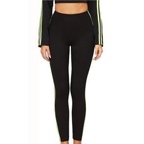 Yoga was dun strakke broek (kleur: zwart maat: S)