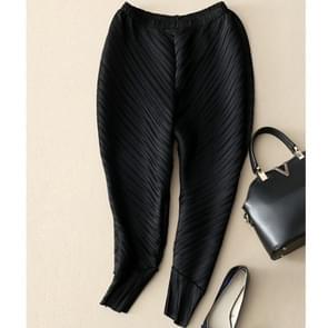 Wilde dunne casual harem broek voeten Crimp radijs (kleur: zwart maat: One size)