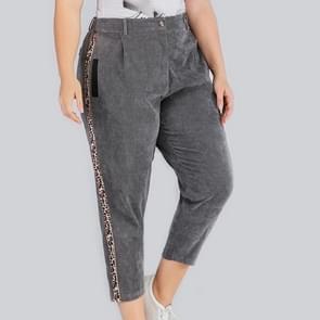 Plus size vrouwen casual broek (kleur: als Toon grootte: 0XL)