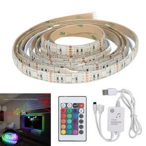 YWXLight TV Muziek Achtergrond lichtdecoratielamp met LED-ritme flexibele lamp met 2 meter USB muzieklamp