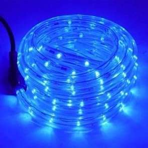 YWXLight LED Round Two-wire Light String Lights Waterproof Neon Flexible Light  EU Plug (Kleur:Blauw Licht Grootte:10m)