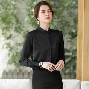 Fashion Casual Suit Bottoming Shirt (Kleur: Zwart Formaat: S)