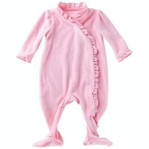 Babykleding met lange mouwen (kleur: roze maat:66)
