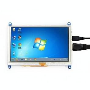WAVESHARE 5 Inch HDMI LCD (G) 800x480 Touch Screen voor Raspberry Pi ondersteunt verschillende systemen