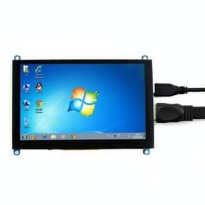 WAVESHARE 5 Inch HDMI LCD (H) 800x480 Touch Screen voor Raspberry Pi ondersteunt verschillende systemen