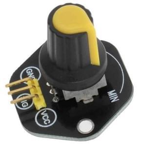 LandaTianrui LDTR-RM039 roterende hoek sensor module licht/volume regeling voor Arduino (geel)