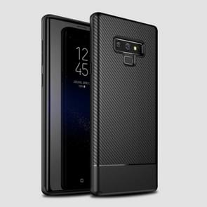 Lewei Carbon Fiber Texture TPU Case For Galaxy Note9 (Black)