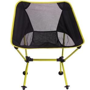 Outdoor Portable Folding Camping Chair Light Fishing Beach Chair Aviation Aluminum Alloy Backrest Recliner