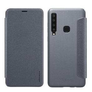 NILLKIN Frosted Texture Horizontal Flip Leather Case For Galaxy A9s / A9 Star Pro / A9 (2018) (Gray)