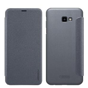 NILLKIN Frosted Texture Horizontal Flip Leather Case For Galaxy J4+ / J4 Prime (Gray)