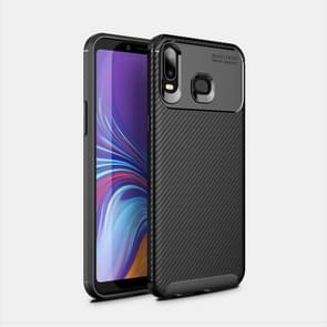 Beetles Series Full Coverage Carbon Fiber TPU Protective Case for Galaxy A6s