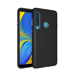 Anti-slip Armor Texture TPU + PC Case For Samsung Galaxy A9 (2018) (Black)