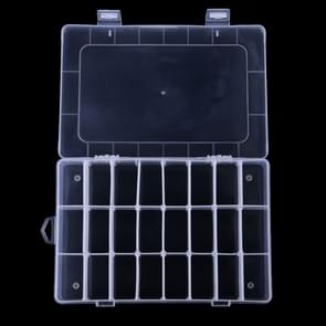 HENGJIA qt022 Twenty Four Grid Waterproof Multifunction Fishing Tool Gear Storage Transparent Fishing Tackle Box