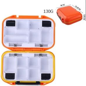 HENGJIA qt020 Waterproof Multifunction Fishing Tool Gear Storage Hooks and Fishing Bait Box , small: 11.5 x 8 x 3.5cm