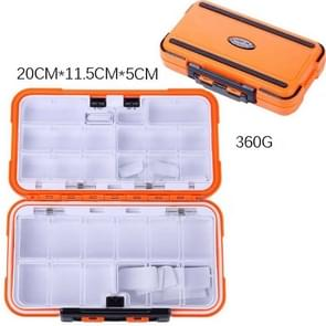 HENGJIA qt020 Waterproof Multifunction Fishing Tool Gear Storage Hooks and Fishing Bait Box , Large Size: 20 x 11.5 x 5cm